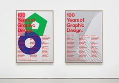 100 Years of Graphic Design - Proud Creative