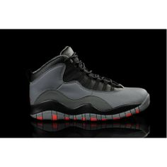 Order 310805-023 Air Jordan 10 Retro Cool Grey Infrared Black 2014 For Sale $109.00 http://www.onfootlocker.com/