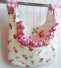 new CLOTHESPIN BAG rachel ashwell roses