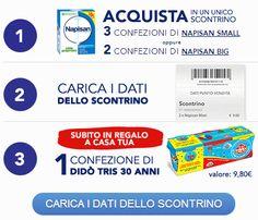 Didò omaggio con Napisan - http://www.omaggiomania.com/omaggi-con-acquisto/dido-omaggio-con-napisan/