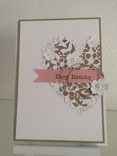 Paper-and-More: StampinUp - blühendes Herz