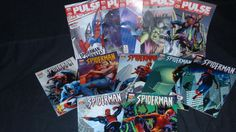 SPIDERMAN 12 NUMEROS The Pulse y 7 tomos-buen estado!!