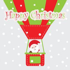 Playing Cards, Symbols, Letters, Happy, Christmas, Christmas Place Cards, Hot Air Balloon, Vector Graphics, Papa Noel