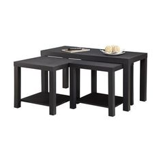 Altra Furniture 3-Piece Coffee Table and End Table Set - http://www.furniturendecor.com/altra-furniture-3-piece-coffee-table-and-end-table/ - Categories:Coffee Tables, Dining Room Furniture, Dining Room Sets, Furniture, Home and Kitchen, Living Room Furniture, Tables