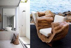 tocones de madera para decorar hogar (14)