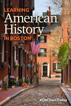 Walk Boston's famed Freedom Trail, throw tea overboard at the Boston Tea Party Ships & Museum and tour the Old North Church. #OldTownTrolley