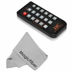 IR Wireless Remote Control for SONY Alpha NEX-7 NEX-5, SLT (A77 A65 A57 A55 A33), DSLR (A900 A850 A700 A580 A560 A550 A500 A450 A390 A380 A330 A290 A230) + Premium MagicFiber Microfiber Cleaning Cloth by Goja. $12.99. - New Remote Commander for Sony- 100% compatible with SONY Alpha series and replaces SONY RMT-DSLR1 remote commander.- RM-T2 remote control can trigger your camera shutter release remotely from a distance about 15 meters.- Operating temperature 0 °C to 4... Camera Shutter, Tear, Sony Slt, Electronics, Distance, Consumer Electronics
