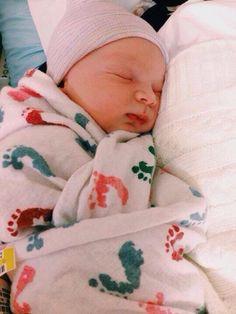 Cubbie's and Rebecca's baby girl! Gemma Elena Fink