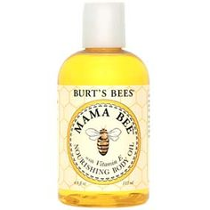 Burt's Bees Mama Bee Nourishing Body Oil with Vitamin E 4 oz Apply generously all over body for smooth, naturally nourished skin. Best if applied immediately after shower or bath to lock moisture in. Burts Bees, Baby Massage, Vitamin E, Itchy Legs, Aloe Vera, Beauty Hacks Lips, Beauty Tips, Beauty Makeup, Prego