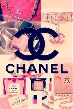 Pretty In Pink Chanel Vintage Wallpaper | We Heart It
