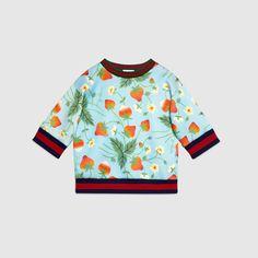 Children's strawberry sweatshirt