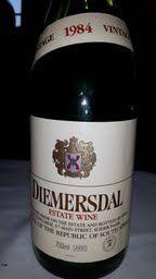 Diemersdal Estate Wine 1984