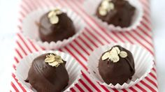 Wendi Hamel via Pillsbury Oatmeal Chocolate Chip Cookie Truffles
