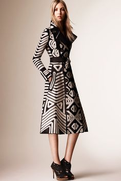 Burberry Prorsum, Look #1