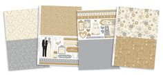 FREE Wedding Belles papers to download from issue 99!   Papercraft Inspirations