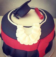 Bolo Formatura Direito - Graduation Cake www.deliciasdajaciara.com