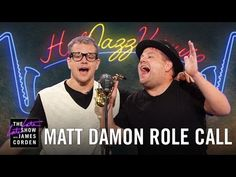 """Matt Damon and James Corden act out snippets from Matt's legendary film career, covering everything from The Departed to We Bought a Zoo. Subscribe To """"The L..."""