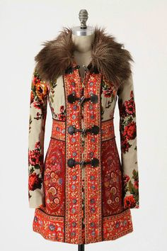 Photos courtesy of Anthropologie Currently attracted to this Anthropologie Karelia Coat, I've been feeling prints lately and kinda fell for this coat! This coat features patchwork of Russian-inspired tapestries, complete with a faux-fur collar and leather toggle closures. Just something … Continue reading →