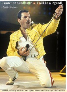 Freddie Mercury - Join EMF! Rockin' 80s and Childhood Memories