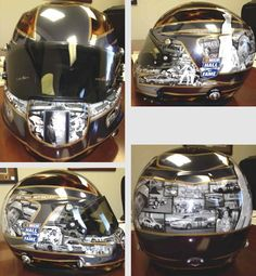 Checkout Darrell Waltrip's custom helmet. This helmet was specially made for today's charity event! Click the link above to get a better look!
