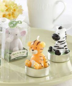 Look what I found on #zulily! Born To Be Wild Animal Candles Set #zulilyfinds