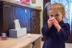 Practical Life for the Winter -- Toddler Nose Blowing