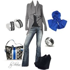 chunky sweater and adorable Coach accessories Cold Weather Outfits, Fall Winter Outfits, Autumn Winter Fashion, Casual Outfits, Cute Outfits, Fashion Outfits, Womens Fashion, Style Fashion, Fashion Ideas