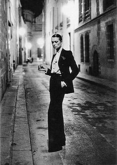YSL Le Smoking suit, 1966