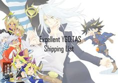 Excellent YGO:TAS Shipping List