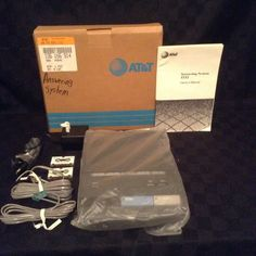 AT&T 2 Line Remote Answering System Model 1332 Telephone Answer #ATT