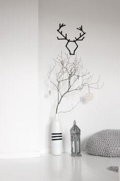 hvitt gulv