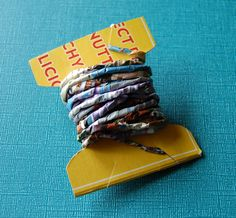 The Craftinomicon: Paper Twine
