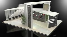 Custom exhibit designed with Studio Max and rendered with Vray. Pop Design, Display Design, Wall Design, Modern Design, Custom Design, Exhibition Stall, Exhibition Stand Design, Exhibition Display, Exibition Design