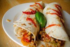 Burritos z kaszą gryczaną