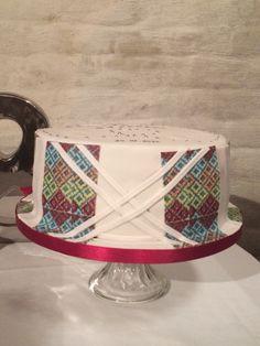 Wedding cake... Home made
