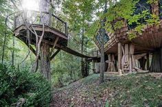 Storybook Treehouse Home Tour - Unique Treehouse Homes