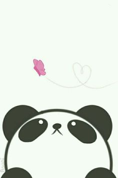 Imagen de panda, kawaii, and wallpaper: - Imagen de panda, kawaii, and wallpaper: La meilleure image selon vos envies sur diy crafts Vous cher - Panda Kawaii, Niedlicher Panda, Panda Art, Panda Love, Kawaii Cute, Kawaii Drawings, Cute Drawings, Animal Drawings, Panda Wallpapers