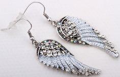 Women Angel wing Drop Earring