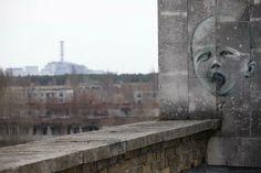 Pripyat graffiti