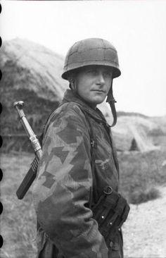 FJ in camo uniform