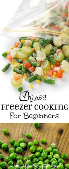 These are great tips for beginners to start making freezer meals and freezer cooking.  How to get started, plan, start cooking, plus tons of amazing freezer meals and recipes!