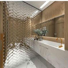 O lavabo mais lindo por malencararquitetura Veja + no blog www.construindominhacasaclean.com Siga@construindominhac...