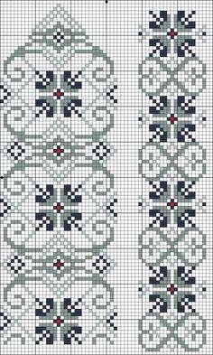 Easiest Crochet Frills Border Ever! Cross Stitch Bookmarks, Cross Stitch Borders, Cross Stitch Samplers, Cross Stitch Charts, Cross Stitch Designs, Cross Stitching, Cross Stitch Patterns, Beaded Embroidery, Cross Stitch Embroidery