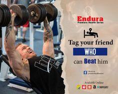 Endura Premiere Health Series - tag your friend who can beat him #EnduraPremiereHealthSeries #WheyProtein #ProteinPowder #BodybuildingSupplements #IndianBodybuildingSupplements