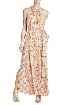 MIA PRINTED MAXI DRESS - BCBG...LOVE IT!