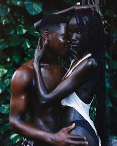 Black Love Couples, Black Love Art, Beautiful Dark Skinned Women, Beautiful Black Women, Beautiful Models, Black Photography, Black Girl Aesthetic, African Beauty, Black Models