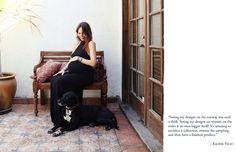gorgeous fashion designer & mama-to-be rachel pally.