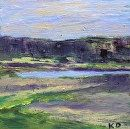 Maine Landscape Painting  Gilsland Farm 2 Oil by kathleendaughan, $60.00