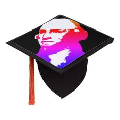 George Washington Silhouette Graduation Cap Topper