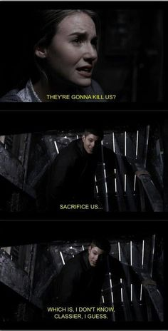 Sacrifice! Supernatural